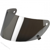 Biltwell Gringo S FLAT SHIELD- Chrome Mirror