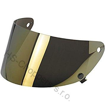 Biltwell Gringo S FLAT SHIELD - Gold Mirror